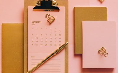 January 2021 -Get organized month or just get going?